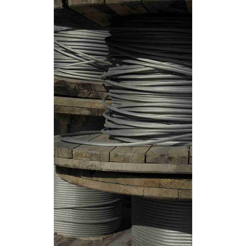Aluminio cable